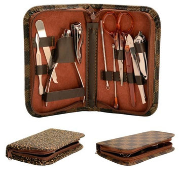 Alphabetdeal. Deluxe Manicure Set with Carrying Case