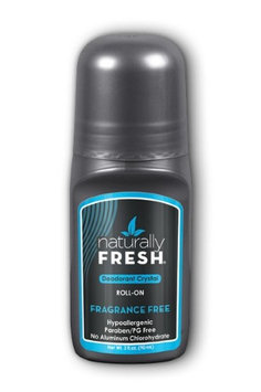 Men's Deodorant Frangrance Free Naturally Fresh 3 oz Roll-on