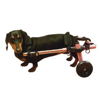 Handicappedpets.com Dog Wheelchair For Small Dogs 8-25 lbs Pink - By Walkin' Wheels