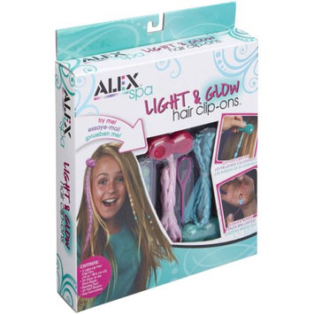 ALEX Color and Glow Hair Clip Ons by Alex