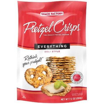 Pretzel Crisps Everything Flavor 12 Pack of 7.2oz Bags