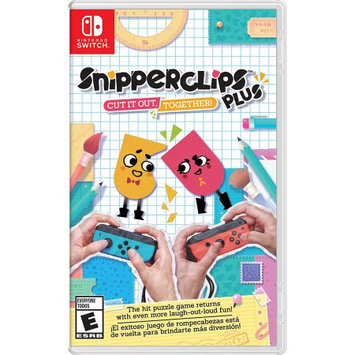 Nintendo Snipperclips Cut it out togh SWITCH (Email Delivery)