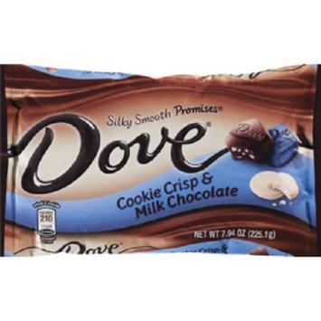 Dove Chocolate Dove Cookie Crisp & Milk Chocolate Silky Smooth Promises