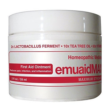 Emuaid MAX First Aid Ointment, 2 Ounce [Standard Packaging]