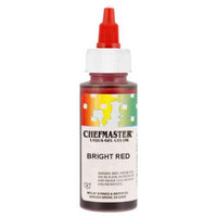 Chefmaster by US Cake Supply 2.3-Ounce Bright Red Liqua-Gel Cake Food Coloring