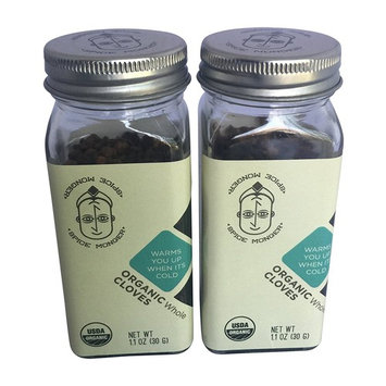 Spice Monger Organic Cloves Whole (Pack of 2) USDA Certified, Fresh Quality, Naturals from Malabar coast
