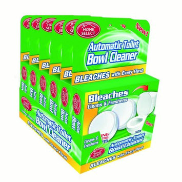 Home Select Toilet Bowl CleanerBleach Tablets, Green, 2 Ct