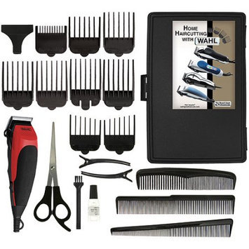 Wahl 9243-2801 Home Cut Bilingual 20 Piece Complete Haircutting Kit