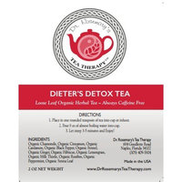 Dieters Detox Tea - Cleanse Toxins from Fat Cells & Reduce Bloating While Losing Weight - Boost Metabolism - Appetite Suppressant- Organic CAFFEINE FREE Loose Herbal Tea Blend - Gluten Free