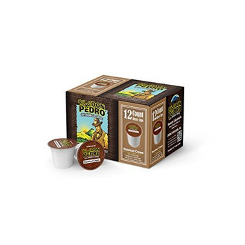 Cafe Don Pedro Hazelnut Cream 72 Count Kcup Low-Acid Coffee (6 packs of 12 ct)