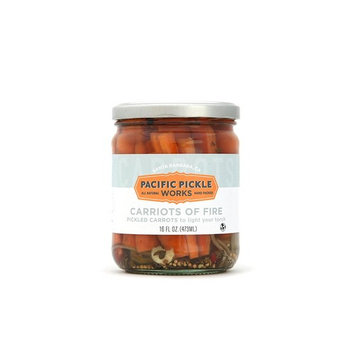Carriots of Fire - Spicy pickled carrot sticks 16oz