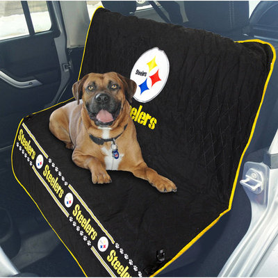 Pets First NFL Pittsburgh Steelers Car Seat Cover