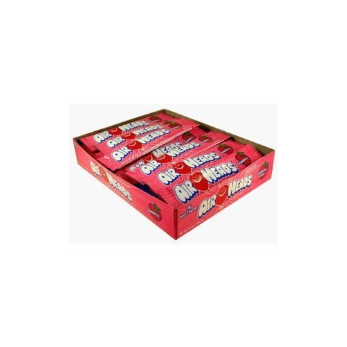 Airheads Candy, Individually Wrapped Bars, Strawberry, Non Melting, Party, 0.55 Ounce (Pack of 36)