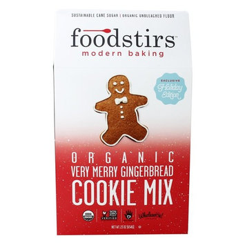 Organic Very Merry Gingerbread Cookie Mix - 23 oz.