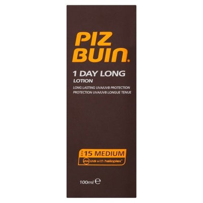Piz Buin 1 Day Long Spf15 Lotion, 100ml