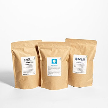 Bean Box Gourmet Coffee Club - 3-Month Subscription (fresh roasted whole bean coffee, specialty arabica beans, personalized gift note, gifts for mom, gifts for dad)