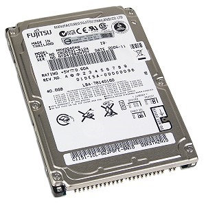Fujitsu 40GB 5400RPM ATA-6 2.5 IN FDB 2.5 Notebook Hard Drive