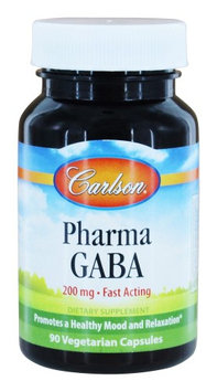 Pharma GABA 200mg Carlson Laboratories 90 Caps