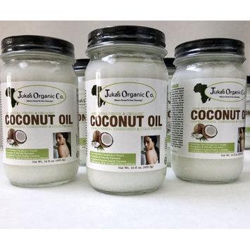 Juka's Organic Co. Cold Pressed, Extra Virgin Coconut Oil -16oz