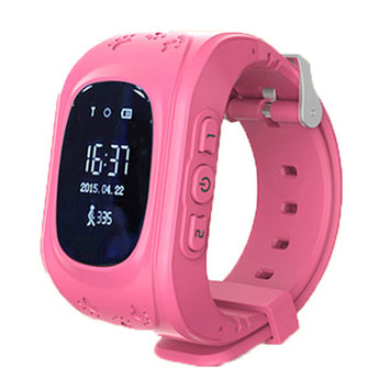 Q50 Smart Watch for Kids Android Watch Accurate Tracker SOS Emergency Anti-Lost Best Gift for Kids Pink