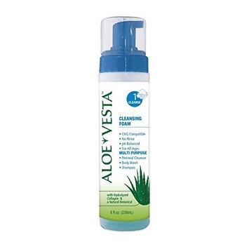 Aloe Vesta Cleansing Foam, Aloe Vesta 3N1 Clnsg Foam 8, (1 EACH, 1 EACH) by ConvaTec by ConvaTec