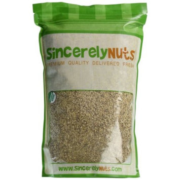 Sincerely Nuts Organic Sesame Seeds Hulled, 5 Lb