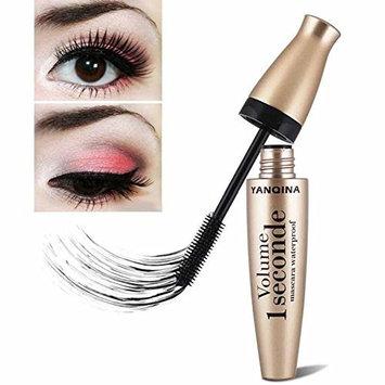 3D Fiber Mascara,Doinshop Long Lasting Waterproof Black Eyelash Extension Eye Extension Makeup Tool