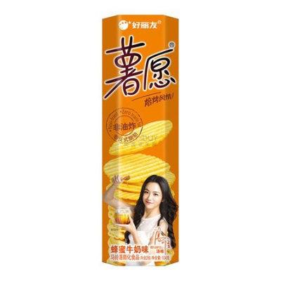 ORION Baked Potato Chips Honey 104g