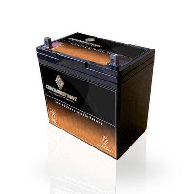 12V 55Ah AGM Deep Cycle Battery for Solar Wind VRLA