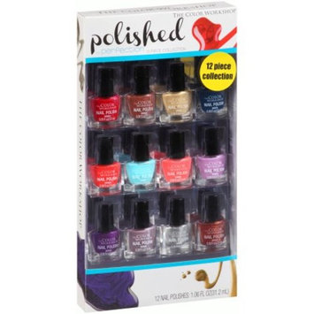 The Color Workshop Polished to Perfection Nail Polish Collection, 12 pc