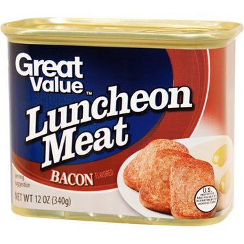 Great Value Bacon Luncheon Meat, 12 oz