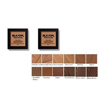 [ trending PACK OF 2] BLACK OPAL TRUE COLOR MINERAL MATTE CREME POWDER FOUNDATION BROAD SPECTRUM SPF 15 #RICH CARAMEL : Beauty