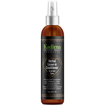 Kadima Herbal Leave-in-Conditioner for all Hair Types. Discover the power of beautiful hair with our leave-in weightless conditioner. Provides intense moisture and conditioning 8 oz