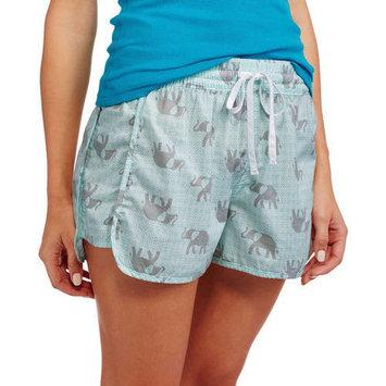 Secret Treasures Essentials Women's Poplin Woven Sleep Shorts with Drawstring