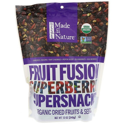 Made in Nature, Organic Fruit Fusion Superberry Supersnack, 12 oz (340 g)