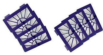 Nispira 8 Pack Hepa Filter Replacement for Neato XV-15 XV-25 XV-21 Robotic Floor Vaccum