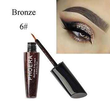 HP95(TM) Available Choose-10 Color Waterproof Glitter Liquid Eyeliner Metallic Shiny Eyeshadow