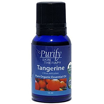 Tangerine Essential Oil Organic, 100% Pure 15 ml
