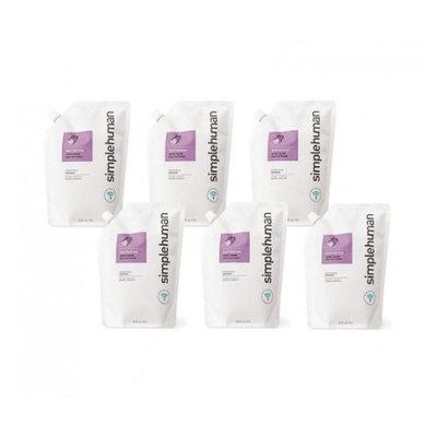 simplehuman Moisturizing Liquid Hand Soap Refill Pouch, Lavender + Vitamin E