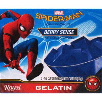 Jel Sert ROYAL SPIDER-MAN GELATIN BERRY SENSE 6 SERVE