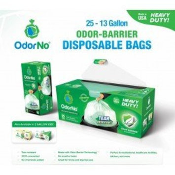 Odorno – Odor-barrier Disposable Bags - Case/125 (Infant - 12.5