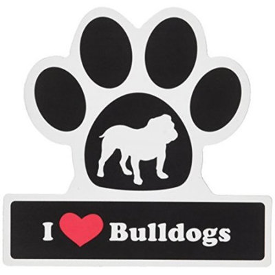 Smart Tag LittleGifts Car Magnet [Bulldog]
