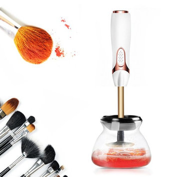 Makeup Brush Cleaner,Ociga Upgraded Electric Brush Cleaner and Dryer Tool - Instantly Wash and Dry Your Make up Brushes in Seconds