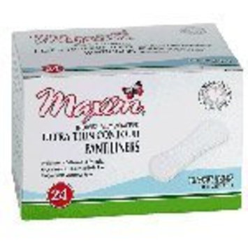 Maxim Hygiene 100% Natural Cotton Ultra Thin Pantiliners, Light Days 24 count