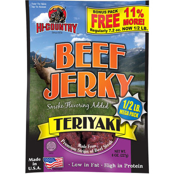Hi-Country Teriyaki Beef Jerky, 8 oz