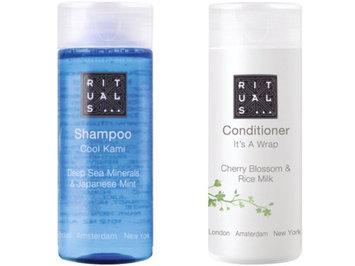 Rituals Deep Sea Minerals Shampoo & Cherry Blossom Conditioner. 5 of Each