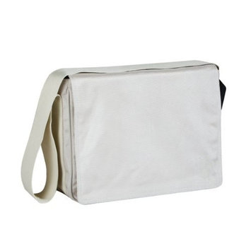 Lassig Small Messenger Diaper Bag, Glam Beige (Discontinued by Manufacturer)