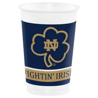 Notre Dame Fighting Irish 20 oz. Plastic Cups, 8-Count [1, University of Notre Dame]