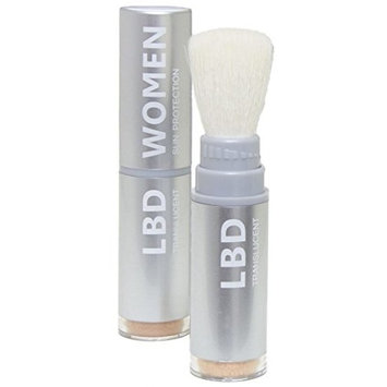 La Bella Donna Natural Mineral Women's Waterproof SPF 50 Powder Sunscreen with Exclusive Dial System Dispensing Brush - 5g (Fair Skin)