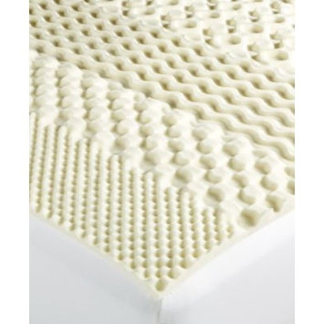 7-Zone California King Memory Foam Mattress Topper, Created for Macy's